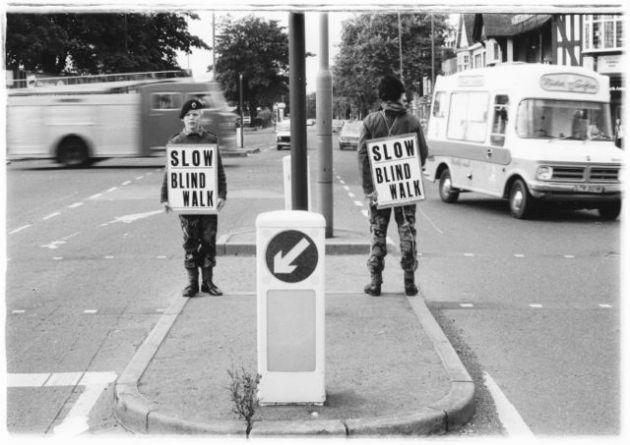 Slow Blind Walk (c) Phil Cosker 1981